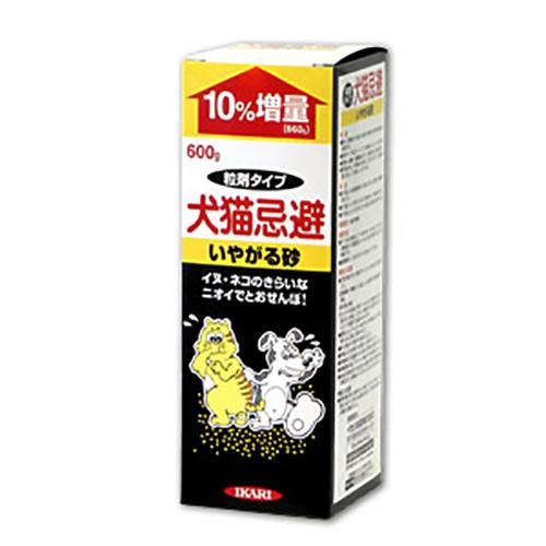 野良犬・猫忌避剤 犬猫忌避 嫌がる砂600g